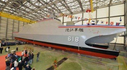 Taiwan construit de nouvelles corvettes de catamarans