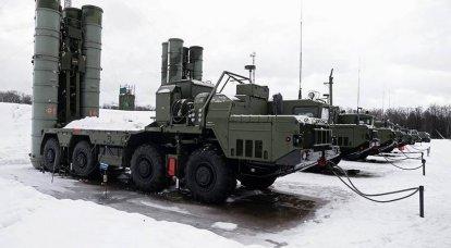 ZVO 대공 연대, S-400 방공 시스템에서 후방 구조 완료