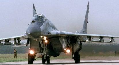 隐藏了已更新的米格29叙利亚空军的电子升级和弹药。 对以色列空军和福布斯的坏消息