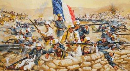프랑스 외국 군단의 개 전쟁