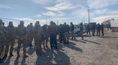 डोनबास में सेनाओं की ब्रीडिंग नहीं हुई: नेशनल कोर ज़ोलोटॉय में टूट गया