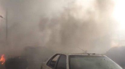 Quatro militantes morreram enquanto preparavam uma provocação com armas químicas na Síria