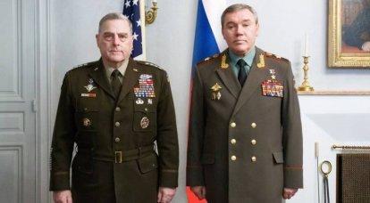 Rusya ve ABD Silahlı Kuvvetleri Genelkurmay Başkanları Finlandiya'da bir araya geldi
