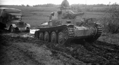 Roads that interested the Wehrmacht
