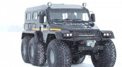 测试新的ATV用于边防警卫