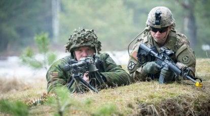 Tallone d'Achille della NATO: 60 ore di paesi baltici