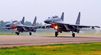 ロシア本部のクローン:中国の軍用航空はその強みを発揮