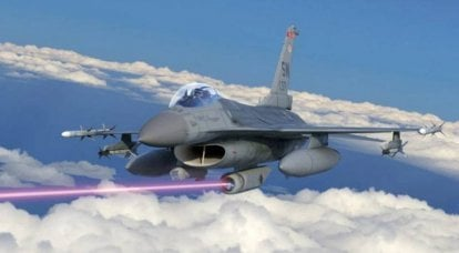 A laser self-defense system will be developed for American fighters