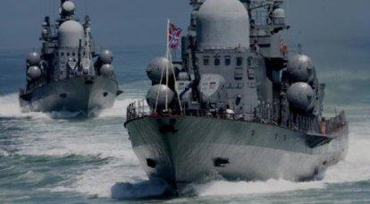 Les navires et les troupes côtières de la flotte de la mer Noire ont commencé à exécuter des tâches d'entraînement au combat