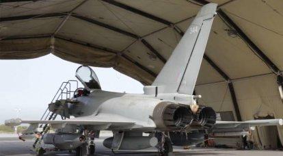 La stampa britannica ha divulgato i dati sull'incidente con la caduta della capsula di guida Litening III dall'aereo Typhoon