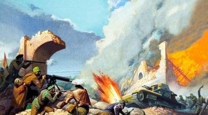 フエンテスデエブロでのタンク攻撃の終焉