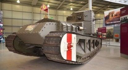 速度和压力:战斗中的第一批高速坦克