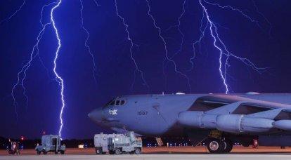 Détails inconnus des exercices du vol B-52H à 25 km des frontières nord de la Crimée. L'USAF a-t-elle atteint le résultat souhaité?