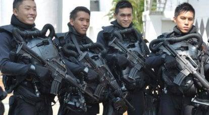 Gardiens de la ville du lion: Forces spéciales de Singapour