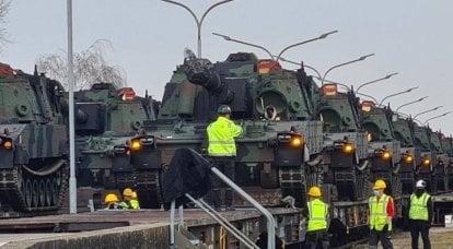 ACS M109A7 Paladin foi transferido dos EUA para a Alemanha, eles também são esperados na Polônia