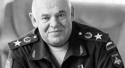 Un comandante experimentado y un verdadero patriota. General V.G. Kazantsev
