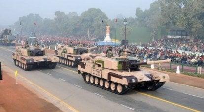MBT Arjun生产。 骄傲的适度理由