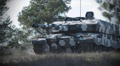 未来のタンクサイエンス:NG 2大砲を搭載したチャレンジャー130