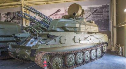 武器についての物語。 ZSU-23-4「シルカ」の外側と内側