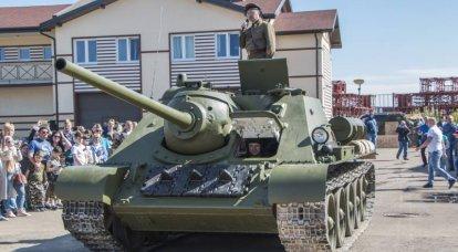 L'unica copia funzionante di SU-85 nel mondo è apparsa in Russia
