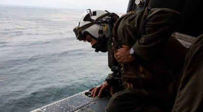 Die Suche nach den Vermissten vor der Küste der US Marines in Kalifornien geht weiter