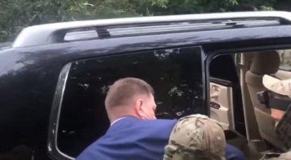 Governatore del territorio di Khabarovsk detenuto per l'organizzazione di tentativi e omicidi