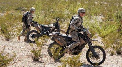 美国军方对无声摩托车感兴趣