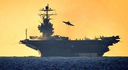 Die sechste Flotte der US Navy. Infografiken