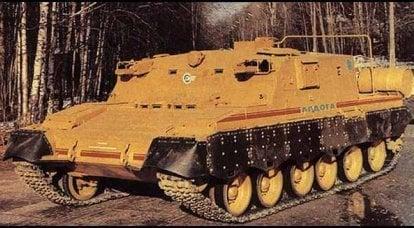 軍事技術協力「ラドガ」。 特別なタスクのための特別な車両