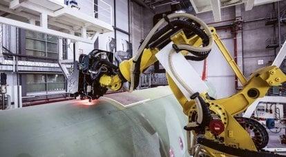出色的飞机维修机器人。 俄罗斯有可能进一步落后