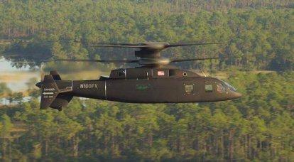 Helicóptero de alta velocidade promissor SB1 Defiant testado com dois terços da potência do motor