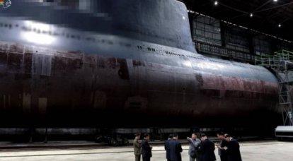 डीपीआरके में बैलिस्टिक मिसाइलों के साथ एक पनडुब्बी का निर्माण। जापान के सागर के लिए पनडुब्बी