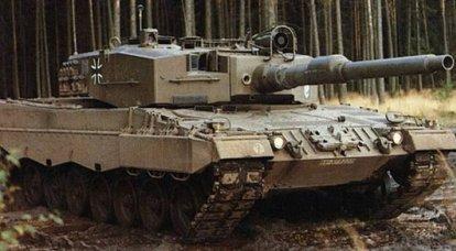 Alman ana muharebe tankı Leopard 2: gelişim aşamaları. 3 bölümü