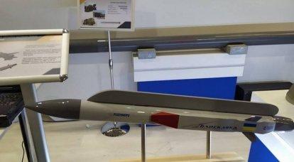 यूक्रेन में, एक विमान हाइपरसोनिक मिसाइल का एक मॉडल प्रस्तुत किया