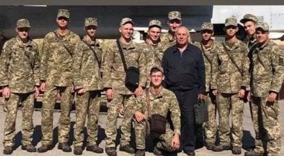 在乌克兰,以哈尔科夫军事大学的学员以Kozhedub的名字表达了安26沦陷的原因
