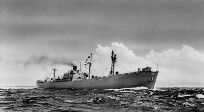 Nakliye gemileri EC2 Liberty: başarı için teknolojiler