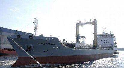 El petrolero marino Akademik Pashin se unirá a la Flota del Norte el 21 de enero.