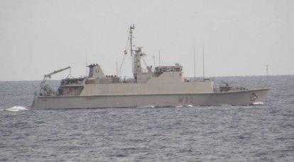 Die nächste Gruppe von NATO-Schiffen betrat das Schwarze Meer