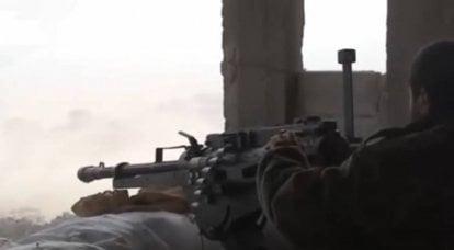 在叙利亚南部,敌对行动重新开始:第4军方SAA师部队正在与敌人作战