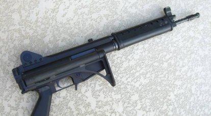 Rifle de carga automática Holloway Arms HAC-7. Falha na compilação de boa sorte