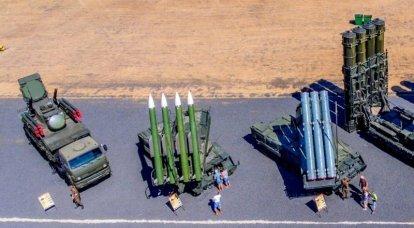 Los sistemas de defensa aérea rusos en todo su esplendor.