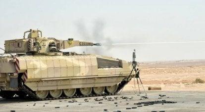 Conchiglie per pistole BMP. Degna risposta al perfido vicino orientale