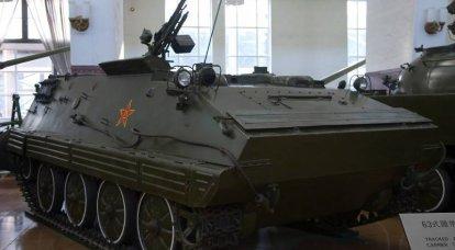 Digitare 63. Visione cinese dei corazzati per il trasporto di personale