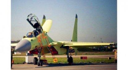 甲板战斗机J15最终破坏了俄中MTC的相互信任