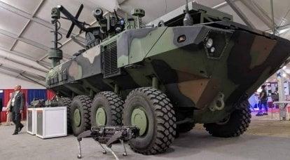 Zırhlı araç ACV: tanksavar füzeleri ile donatılmış
