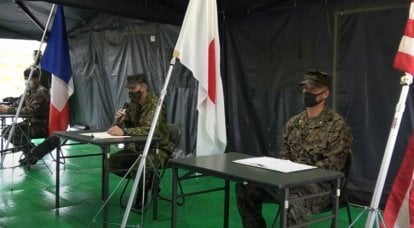 Representatives of the French army were forced to explain the participation of the French military in exercises in southern Japan