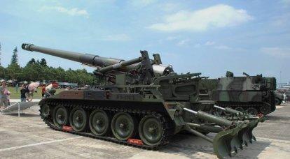 M110:アメリカの自走榴弾砲口径203 mm