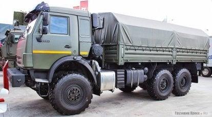 """KamAZ-4310: para a era dos """"Mustangs"""""""