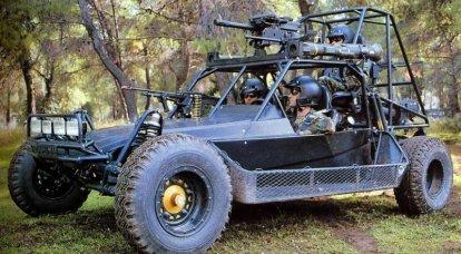沙漠越野车美国陆军