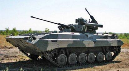Un lote de BMP-2M modernizado entró en servicio con la división de rifles motorizados Taman